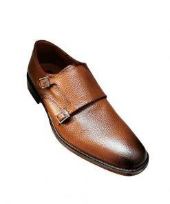 Zapato-elegante-monsktrap-color-miel