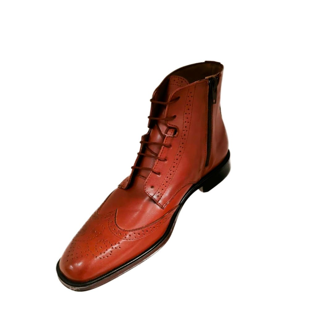 botas de cuero para hombre de vestir